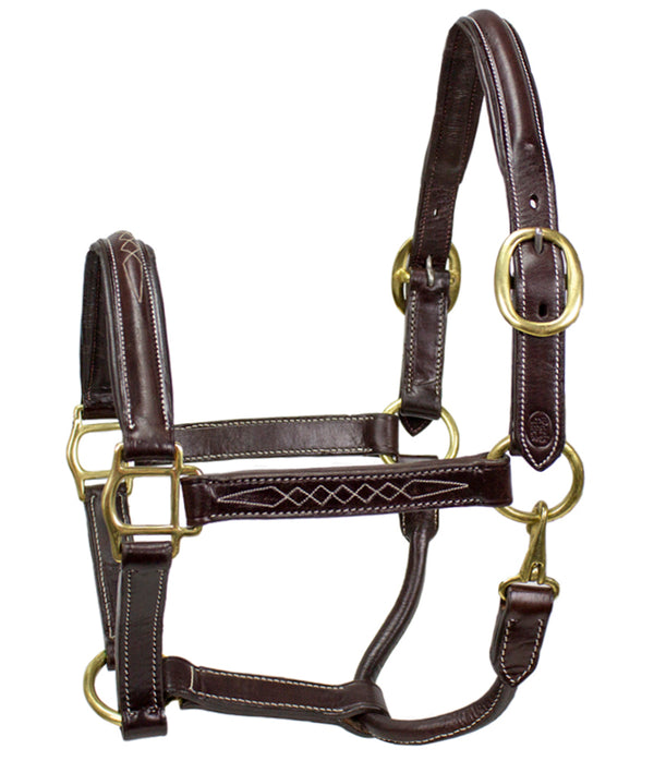 American Elite Fancy Stitch Padded Stable Halters