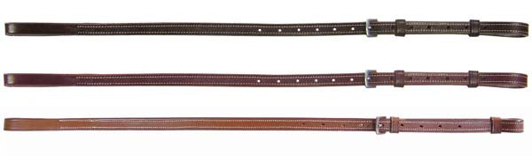 Derby Plain Leather Adjustable  Standing Martingale Attachment