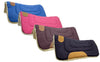 "Pony Canvas Contour Cut Western Saddle Pads by Tahoe Tack - Size 23"" X 23"""
