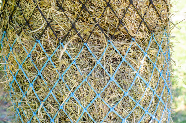 "Derby Originals 56"" Superior Slow Feed Soft Mesh Hanging Hay Net for Horses"