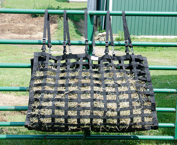 Derby Originals XL Supreme Slow Feed Hay Bag with 1 Year Warranty and Patented Four Sided Design