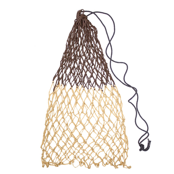 "Derby Originals 42"" Superior Slow Feed Soft Mesh Poly Rope Hanging Hay Net with 2x2"" Holes"