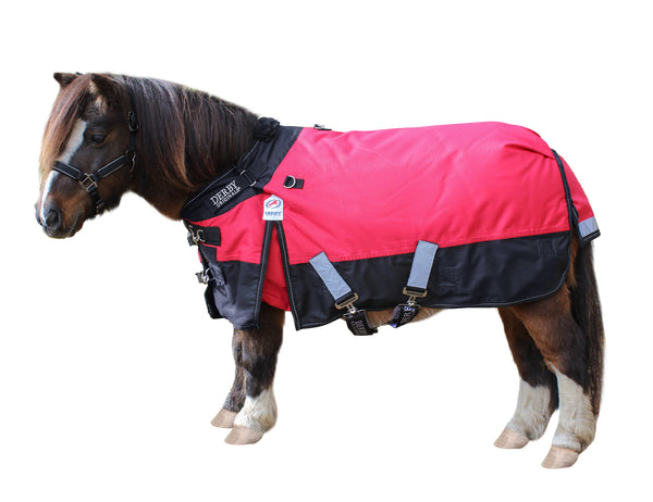 Derby Originals Nordic-Tough 1200D Ripstop Waterproof Reflective All Season Mini Horse & Pony Turnout Rain Sheet with Two Year Warranty