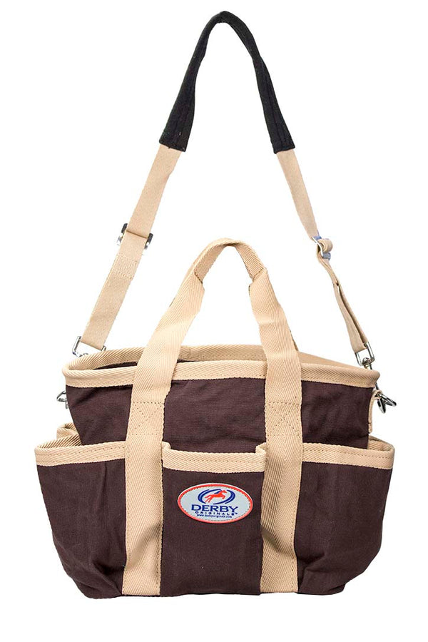 Derby Horse Groomers Canvas Carry Tote Bag