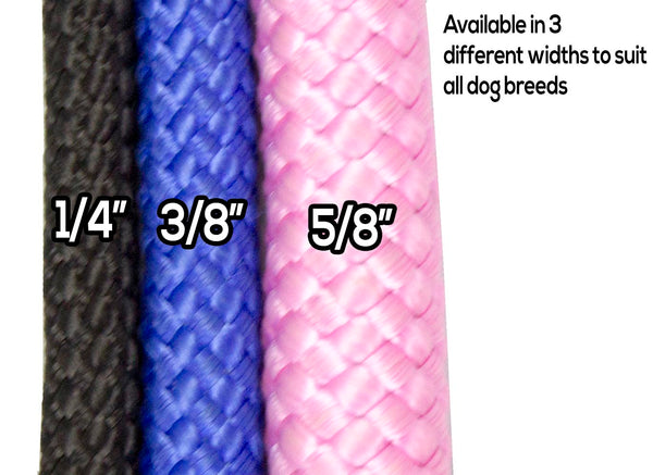 Nylon Round Braided Choke Collar by cuteNfuzzy®