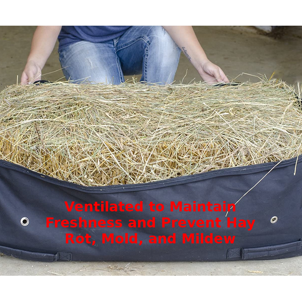 Derby Originals Waterproof Rolling Hay Bale Bag with One Year Warranty and Easy Carry Handles