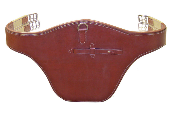 Paris Tack Padded Belly Guard Jumping Girth