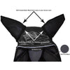 Reflective Trim Fly Mask with Ears & Fringes 1 Year Limited Manufacturer Warranty*