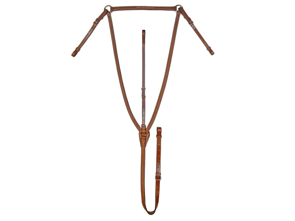 Paris Tack English Breastplate with Standing Attachment
