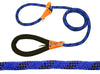 cuteNfuzzy Adjustable Loop Slip Dog Leash with Soft Handle 6 Ft