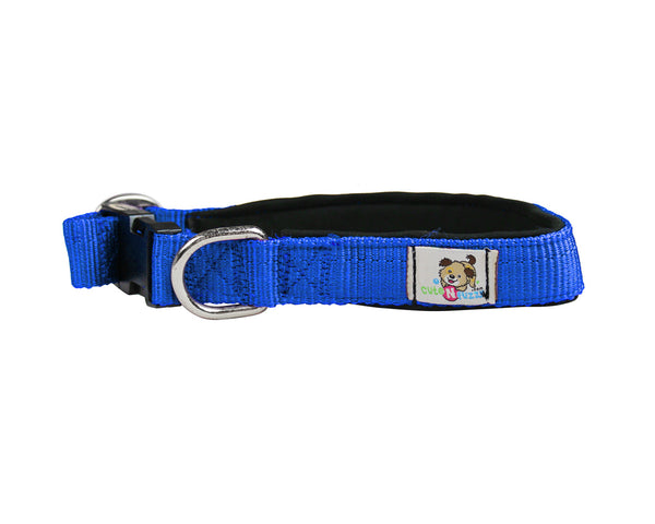 cuteNfuzzy® Adjustable Padded Dog Collar