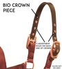 Derby Originals Safety Flex-Webb Replacement Bio Crown Piece for Breakaway Horse Halters