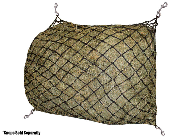 "Derby Originals 48"" Slow Feed Poly Rope Hanging Hay Net with 2x2"" Holes"