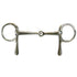 Half Cheek Snaffle Driving Bit Stainless Steel by Derby Originals
