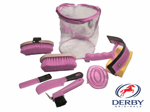 Derby Deluxe 9 Item Horse Grooming Kit