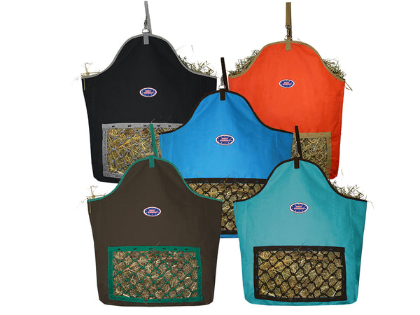 Fiesta Slow Feed Nylon Hay Bags by Derby Originals