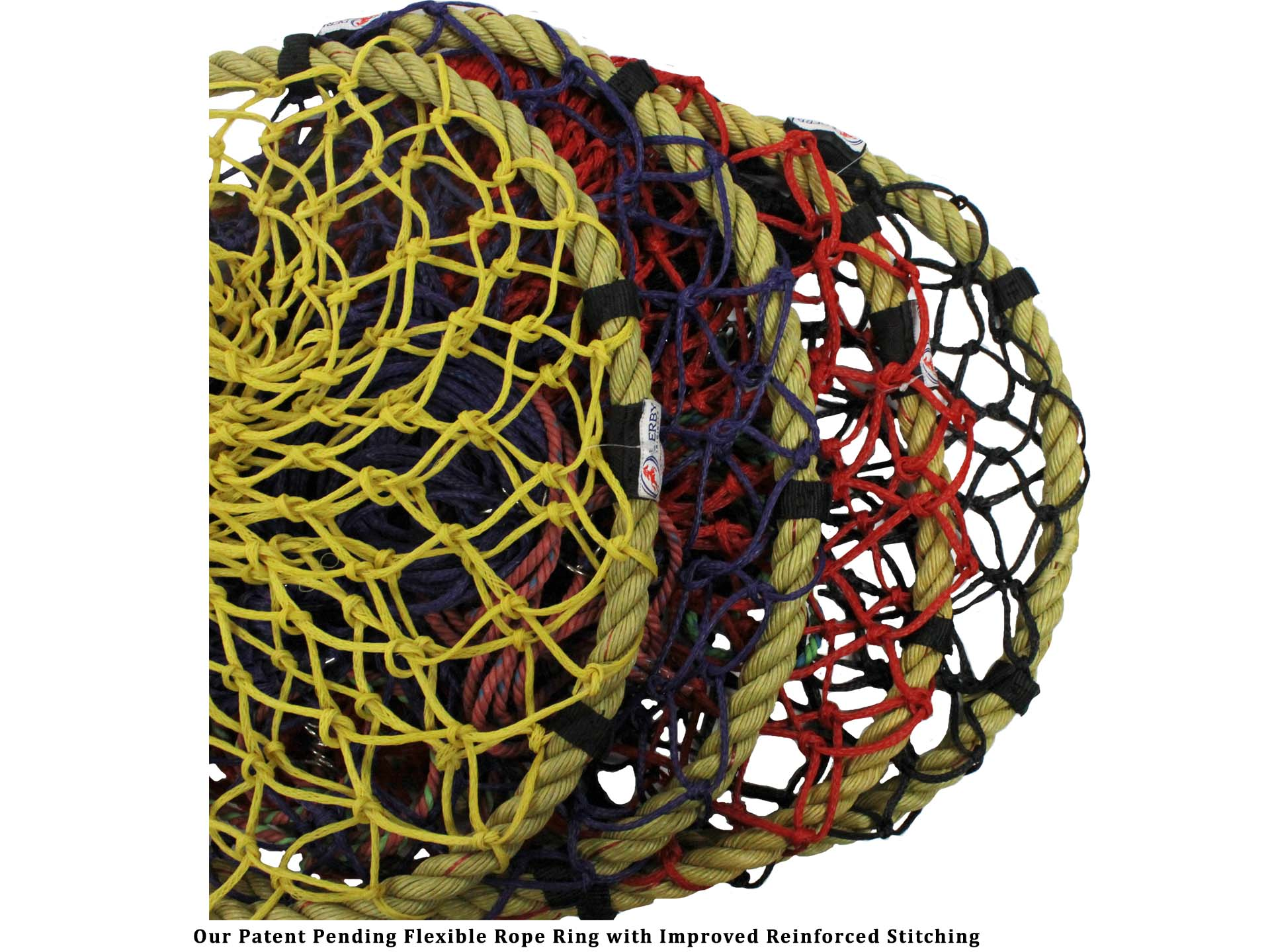 """Derby Originals Quik-Fil™ 48"""" Patent Pending Slow Feed Poly Rope Hanging  Hay Net with 2x2"""" Holes"""