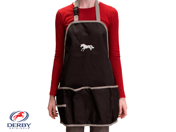 Horse Grooming Apron Waterproof 600D Nylon Horse Embroidered