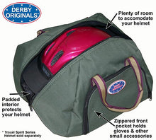 Derby Padded Helmet Carry Bag