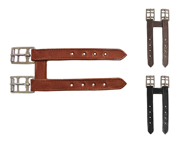 Paris Tack English Leather Girth Extender, Available in Multiple Colors