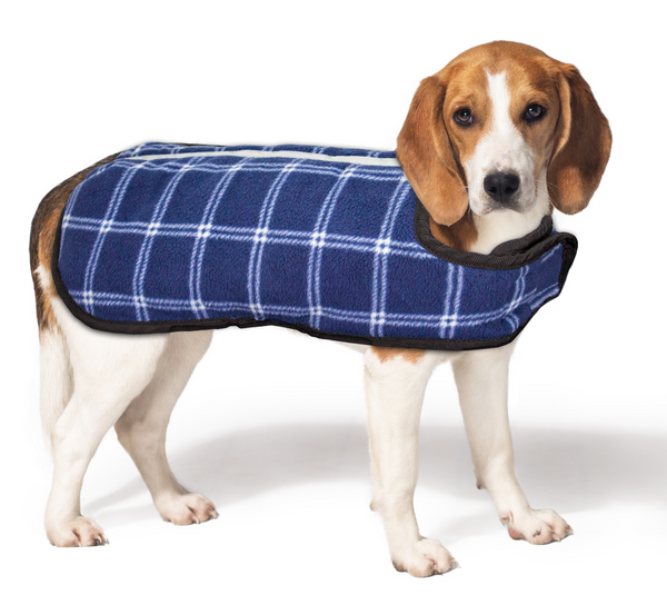 Lightweight Water Repellent Dog Coat Reversible Reflective by cuteNfuzzy