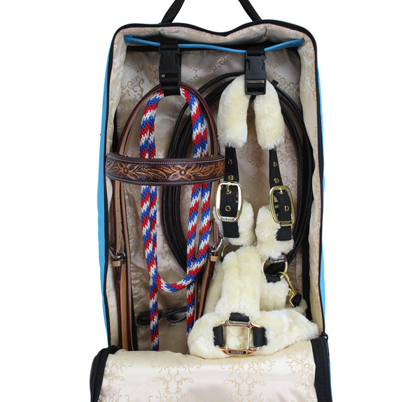 Front Open 3 Layers Padded Bridle Halter Carry Bag by Paris Tack