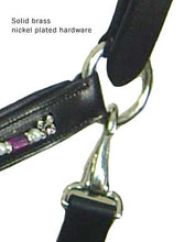 Paris Tack Plum Passion Adjustable Show Halters - USA Leather