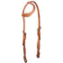 Tahoe Tack USA Leather Pink Swarovski Crystal Inlaid Western Slip Ear Headstall