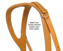 Tahoe Double Duty Single Ear Headstall USA Leather
