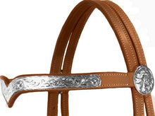 Tahoe Classic Silver Show Headstall with Reins Close Out
