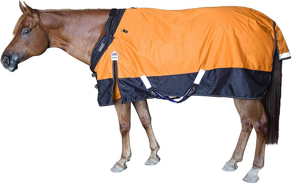 Derby Originals Nordic-Tough 1200D Ripstop Waterproof Reflective Winter Heavyweight Horse Turnout Blanket with 300g Insulation and Two Year Warranty
