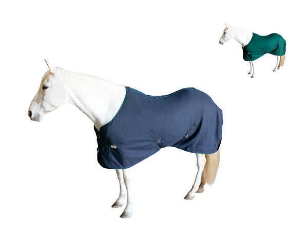Derby Originals Fleece Cooler for Horses All Season Sheet & Blanket Liner with Crossed Surcingles