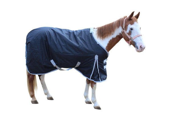 Derby Originals Classic Crossed Surcingles 420D Heavy Weight Winter Horse Stable Blanket 300g