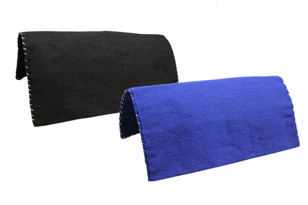 "Tahoe Tack Heavy-Duty Double-Layered 32x32"" Pure New Zealand Wool Saddle Blanket"
