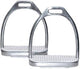Derby Stainless Steel Fillis English Saddle Stirrup Irons Pair