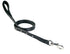Padded Designer Dog Leash w/Diamond Crystals USA Leather