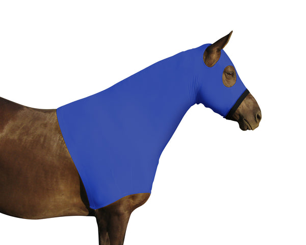 Derby Originals Lycra Stretch Horse Hoods with Zipper - Multiple Colors and Sizes