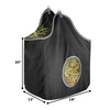 Derby Originals Large D-Ring Canvas Horse Hay Bag with Extra Wide Gusset and Six Month Warranty