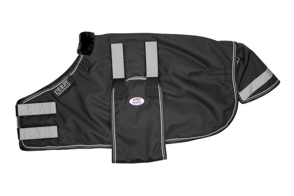Derby Originals Reflective Safety No Hardware Foal & Mini Horse Winter Turnout Blanket 1200D Medium Weight 150g