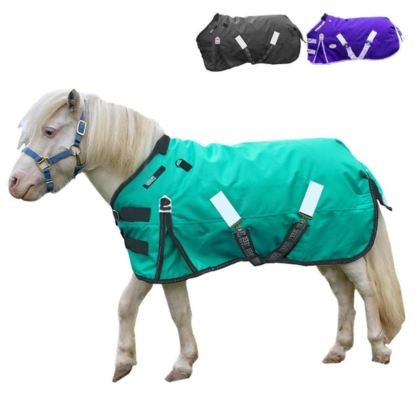 Derby Nordic-Tough 1200D Ripstop Waterproof Reflective Winter Heavyweight Mini Horse & Pony Turnout Blanket with 300g Insulation and Two Year Warranty