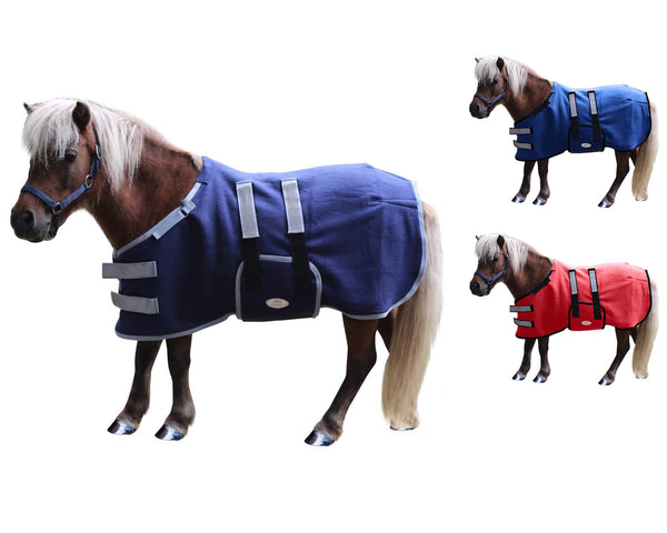 Derby Originals Reflective Safety No Hardware All Season Polar Fleece Sheet Blanket Liner for Foals