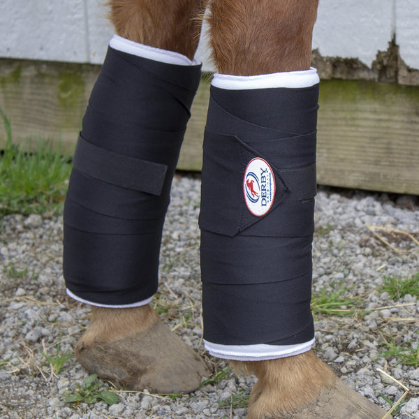 Derby Originals No-Bow Leg Wrap and Standing Bandage Combo