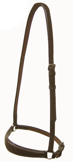 Raised English Drop Noseband Opulent Series