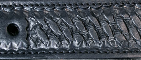 Off Billet- Basket Weave-USA Leather