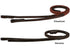 Paris Tack Plain Flat Rubber Reins for English Bridles