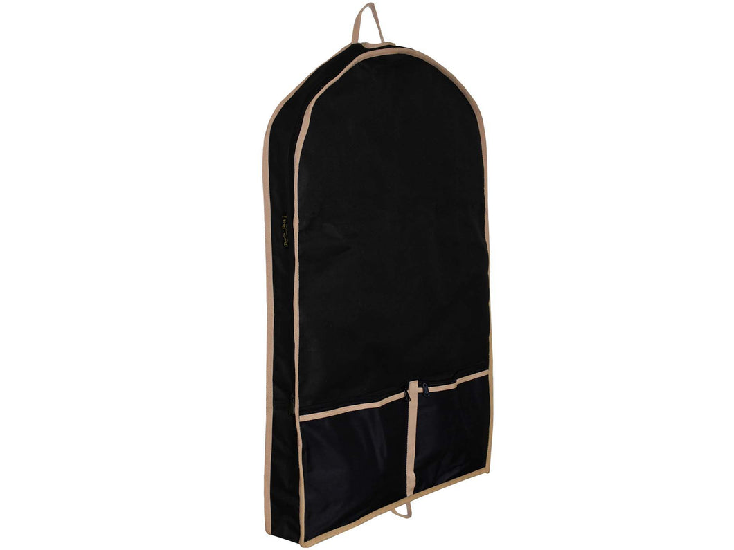 Front Open Garment Bag With Lining by Paris Tack