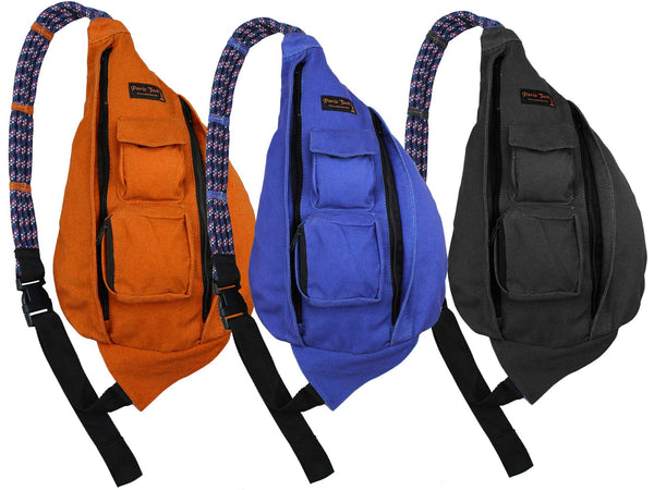 Paris Tack Padded Rope Back Pack