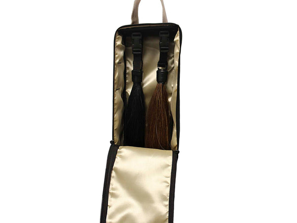 Paris Tack Front Open Double Layer 2 Horse Tail Extension Carry Bag / Carrier