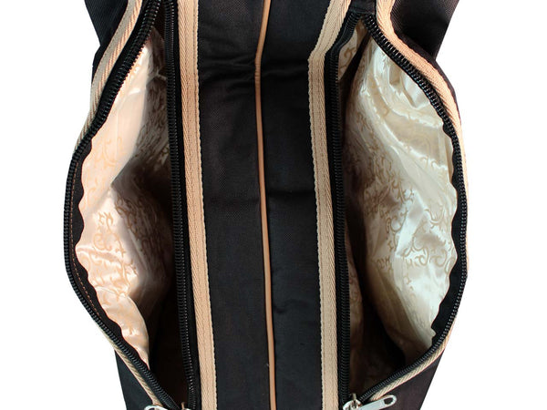 Back Open Western Boot Carry Bag 3 Layer Padded Paris Tack