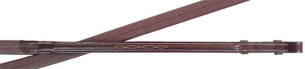 Premium Series Fancy Stitch Rubber Reins